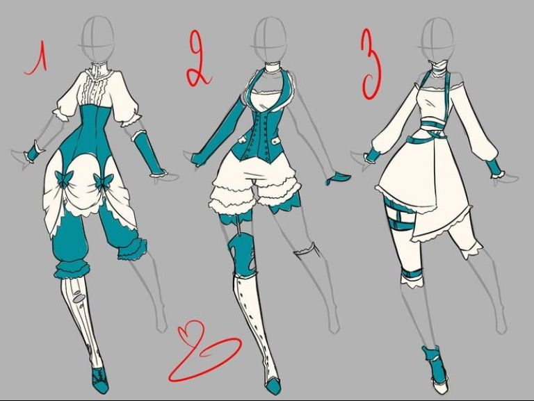 I Love The Design Of This And The Color Fashion Design Drawings Anime Dress Anime Outfits