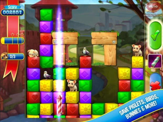 Top Eight Puzzle Mobile Games Pet rescue saga, Candy