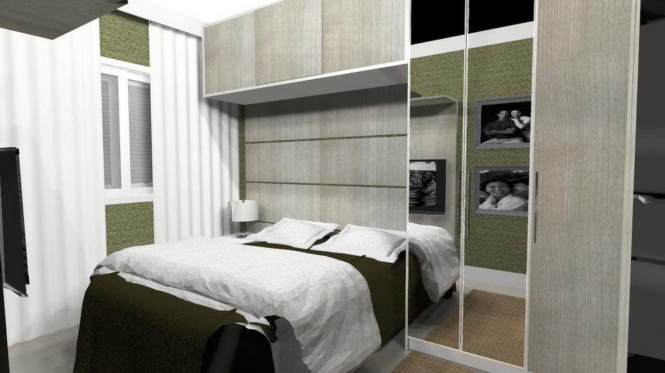 quartos super pequenos de casal Pesquisa Google casa  ~ Quarto Planejado Casal Pequeno
