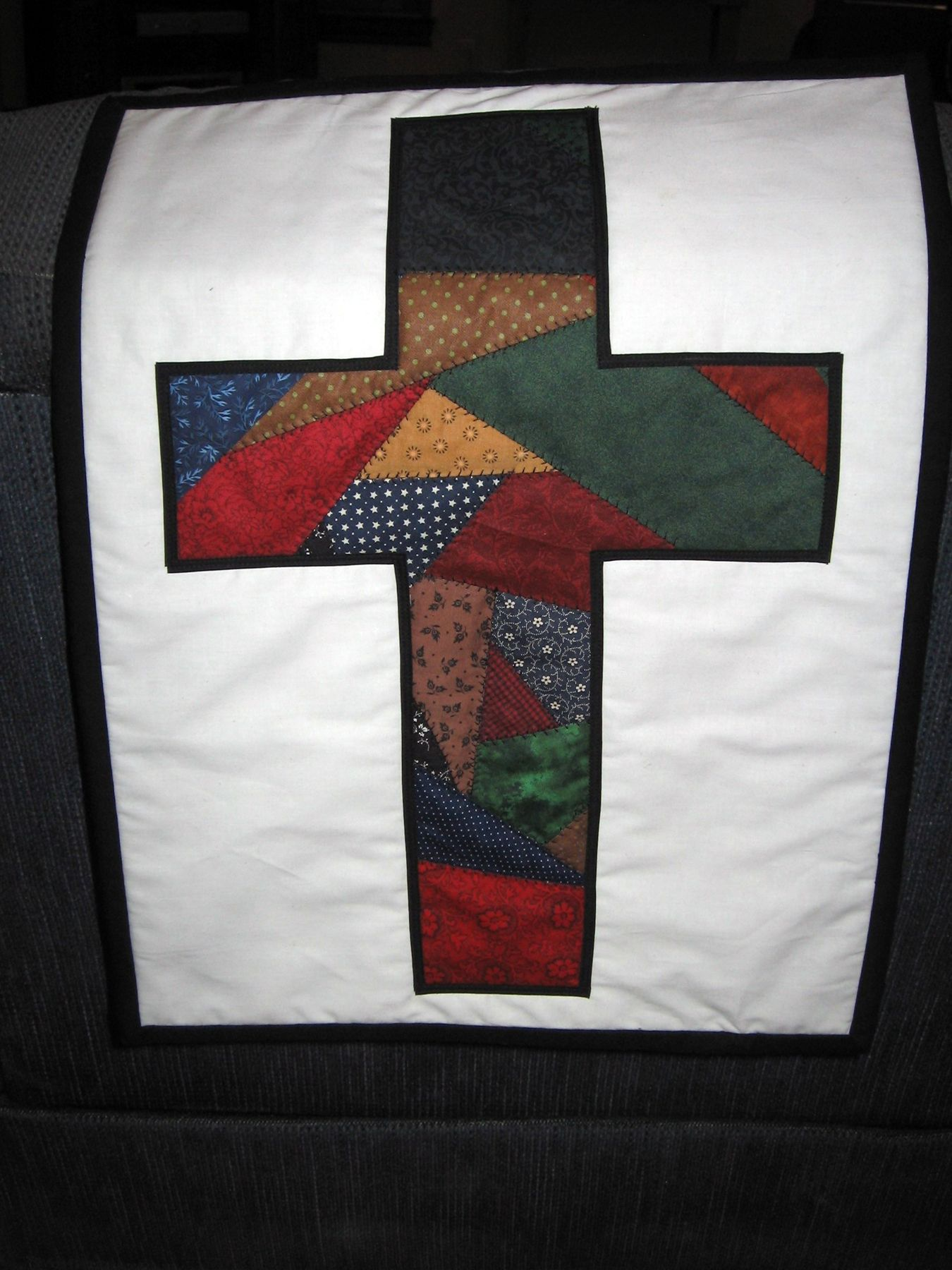 A Quot Crazy Quilt Quot Cross Quilts Pinterest Cross Quilt