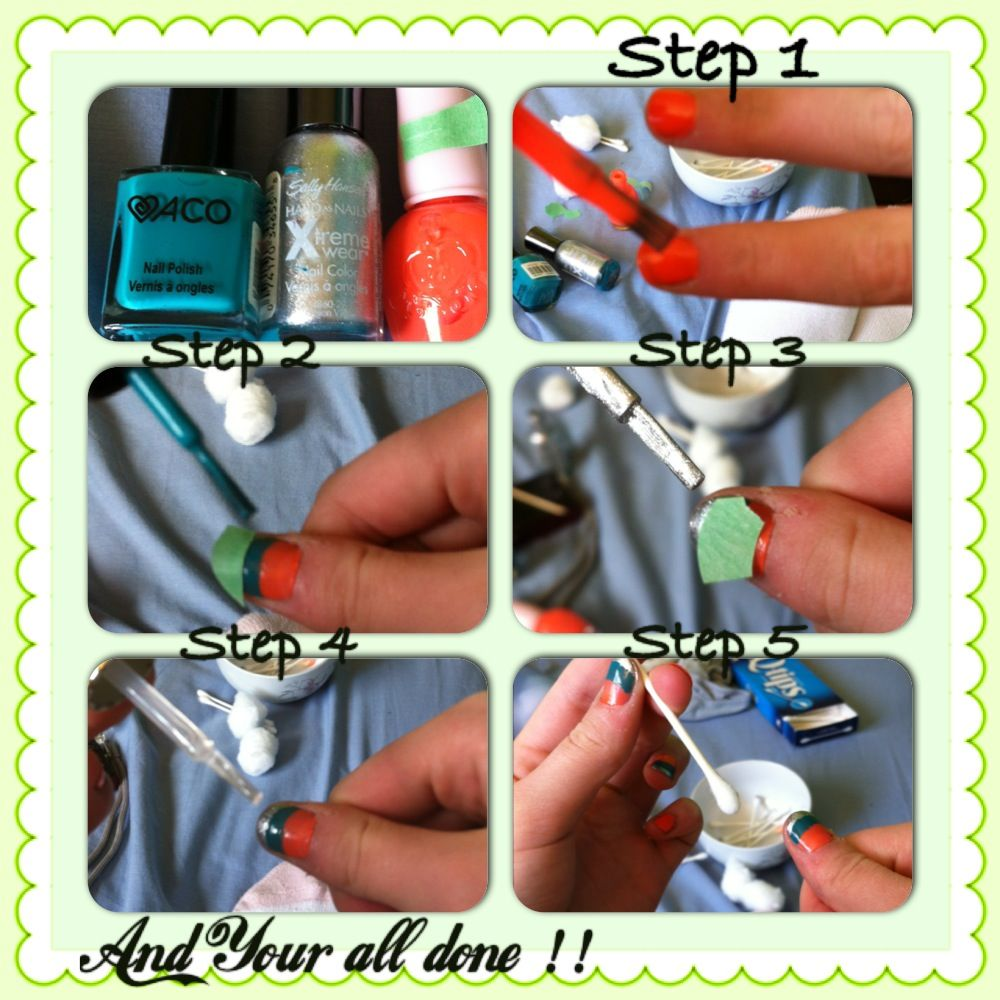 Hi, my fellow nail lovers!! This is a cute spring design that I made my self, here is the tutorial!!! Hope u guys love it!<3 K