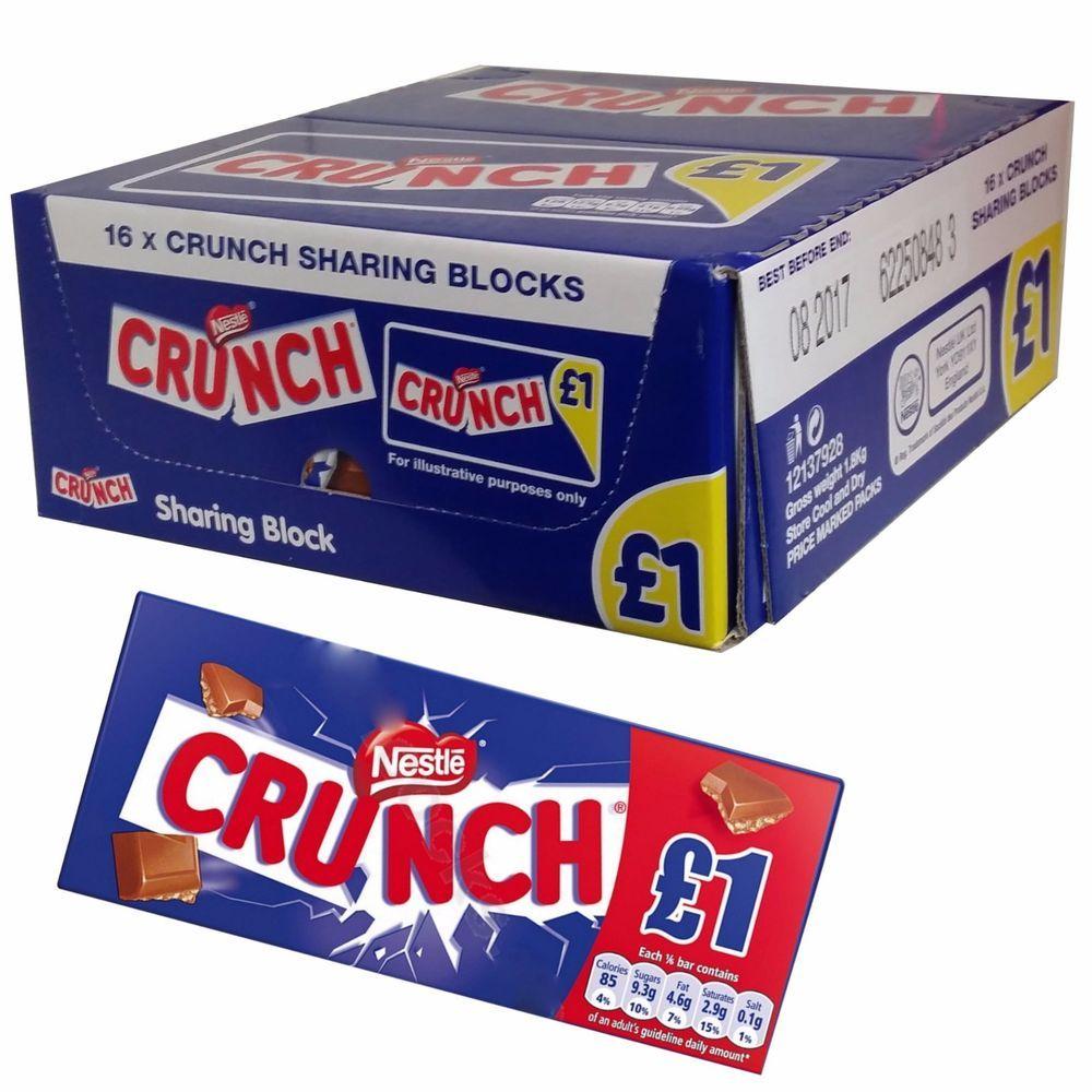 Details About Nestle Crunch Large Milk And Crispy Cereals