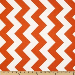 Amazon.com: 44'' Wide Riley Blake Chevron Large Orange Fabric By The Yard: Arts, Crafts & Sewing