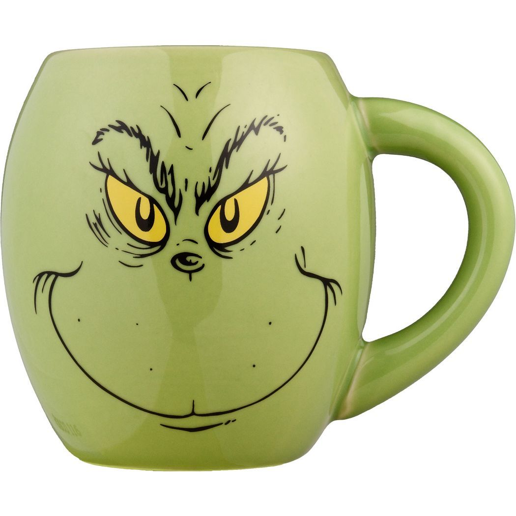 Grinch mug if you can find the right colorshape mugs this can