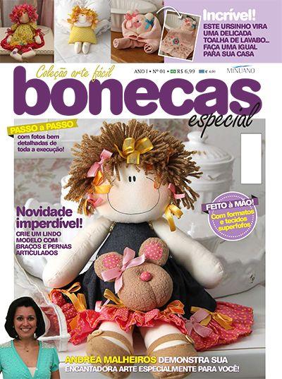 Andrea Artesanato Goiania ~ Editora Minuano Artesanato Bonecas COL ARTE FACIL BONECAS ESP 001 MU u00d1ECAS SANDERS