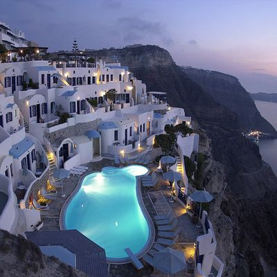 Santorini Hotel Volcano View A 5 Star In Fira The Largest Recognised As Most Easily Accessible Of Caldera