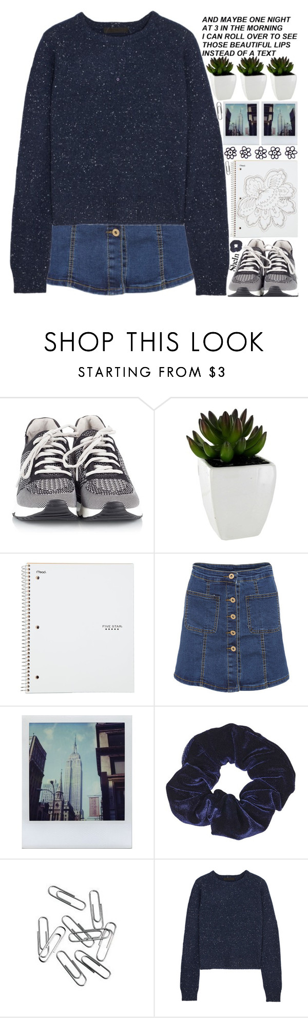 """happy sunday. i love y'all "" by alienbabs ❤ liked on Polyvore featuring Ash, Polaroid, Topshop, Alexander Wang, clean, organized and shein"