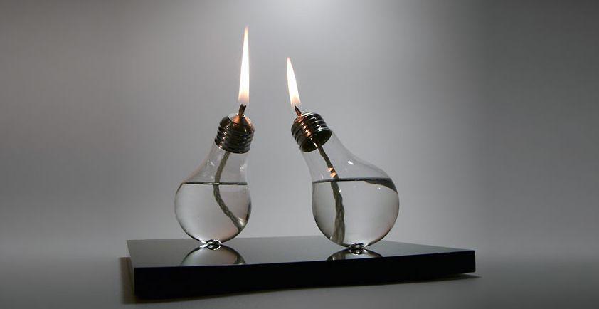 Vela de lampadas