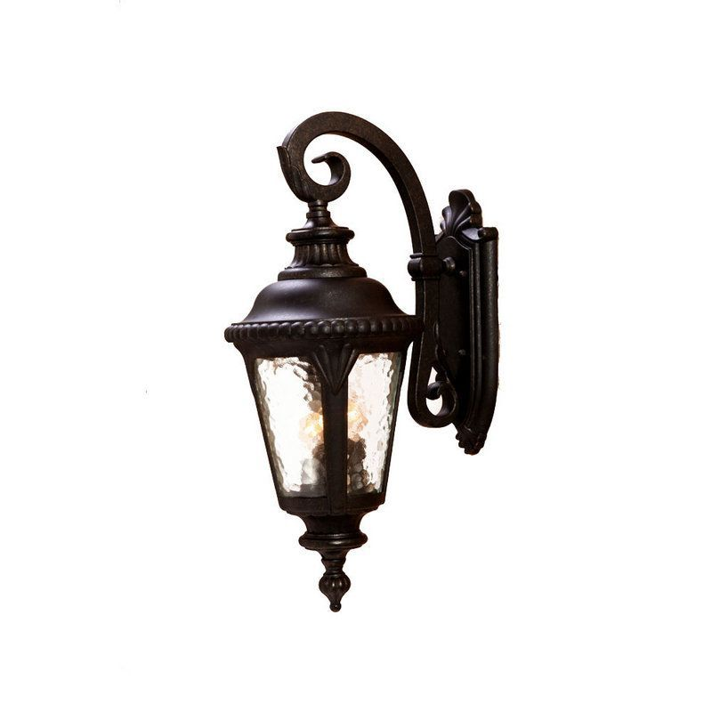 "Acclaim Lighting 7212 Surrey 3 Light 24.5"" Height Outdoor Wall Sconce"