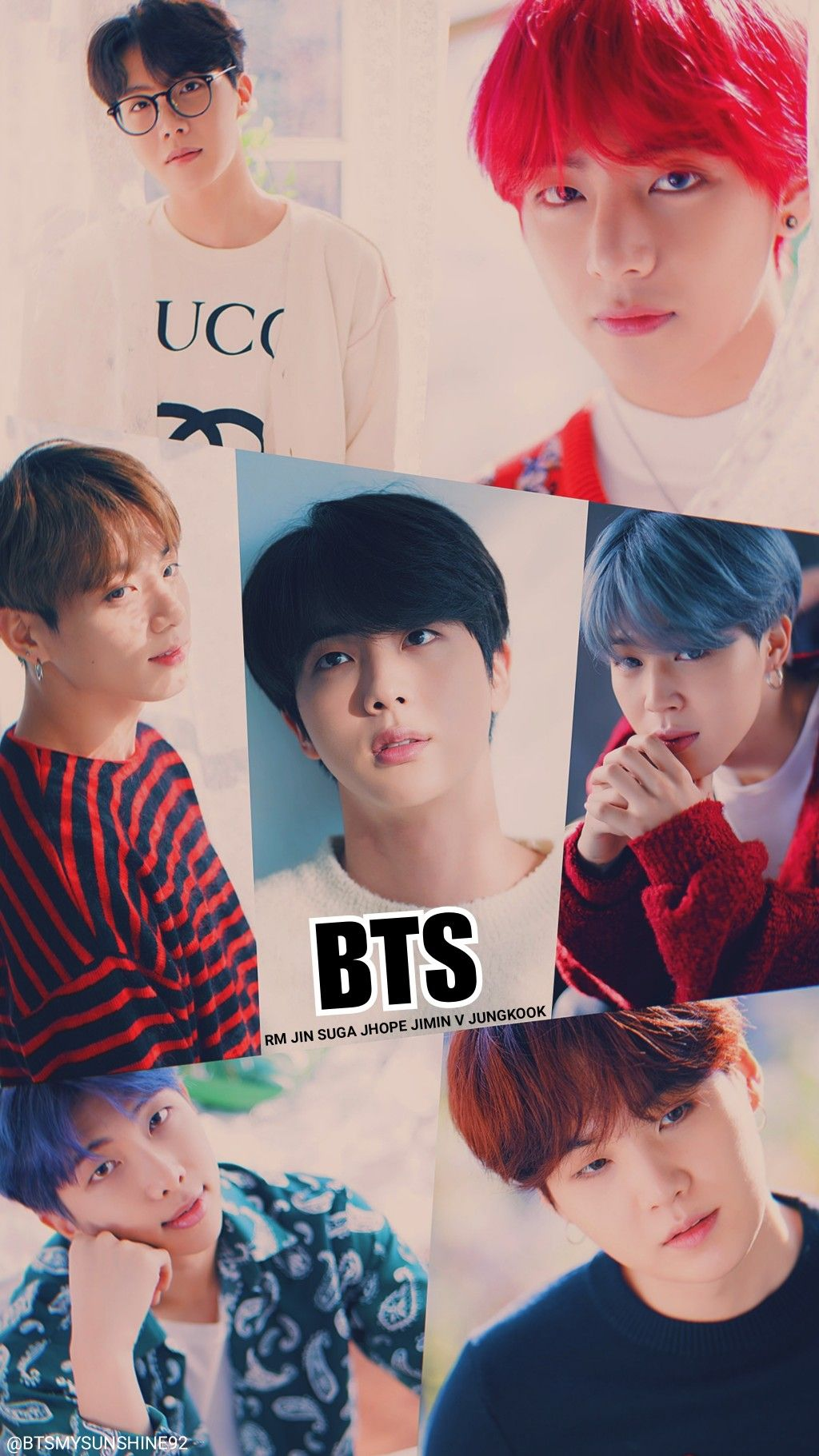 Bts Naver X Dispatch Wallpaper My Edit ホソク Bts かっこいい テヒョン