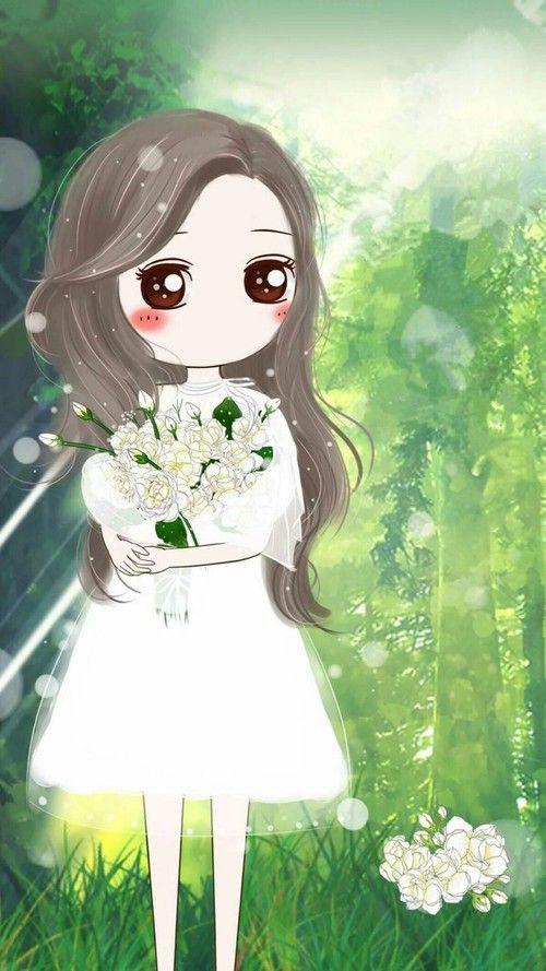Gambar Illustration Kawaii And Wallpaper Cute Girl Wallpaper Cute Art Girly Art