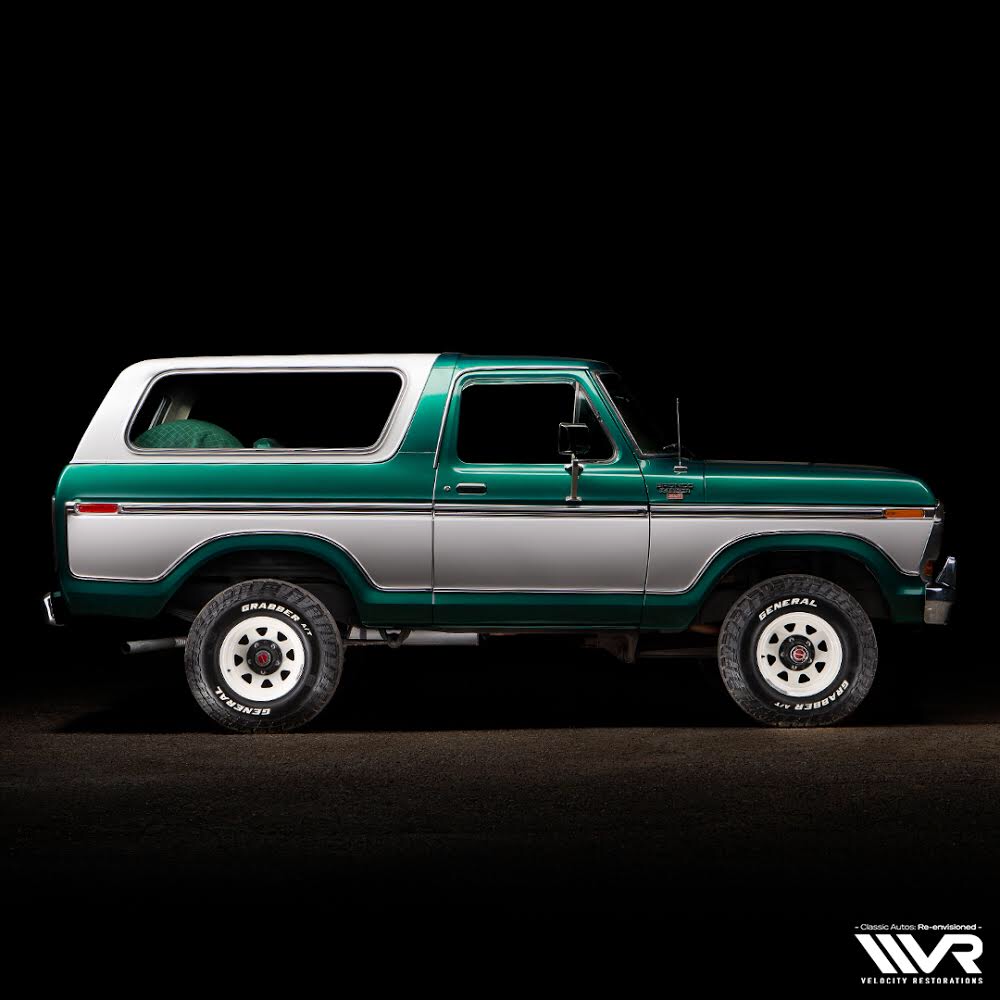 Velocity Restorations Ford Bronco Classic Ford Broncos 1978 Ford Bronco