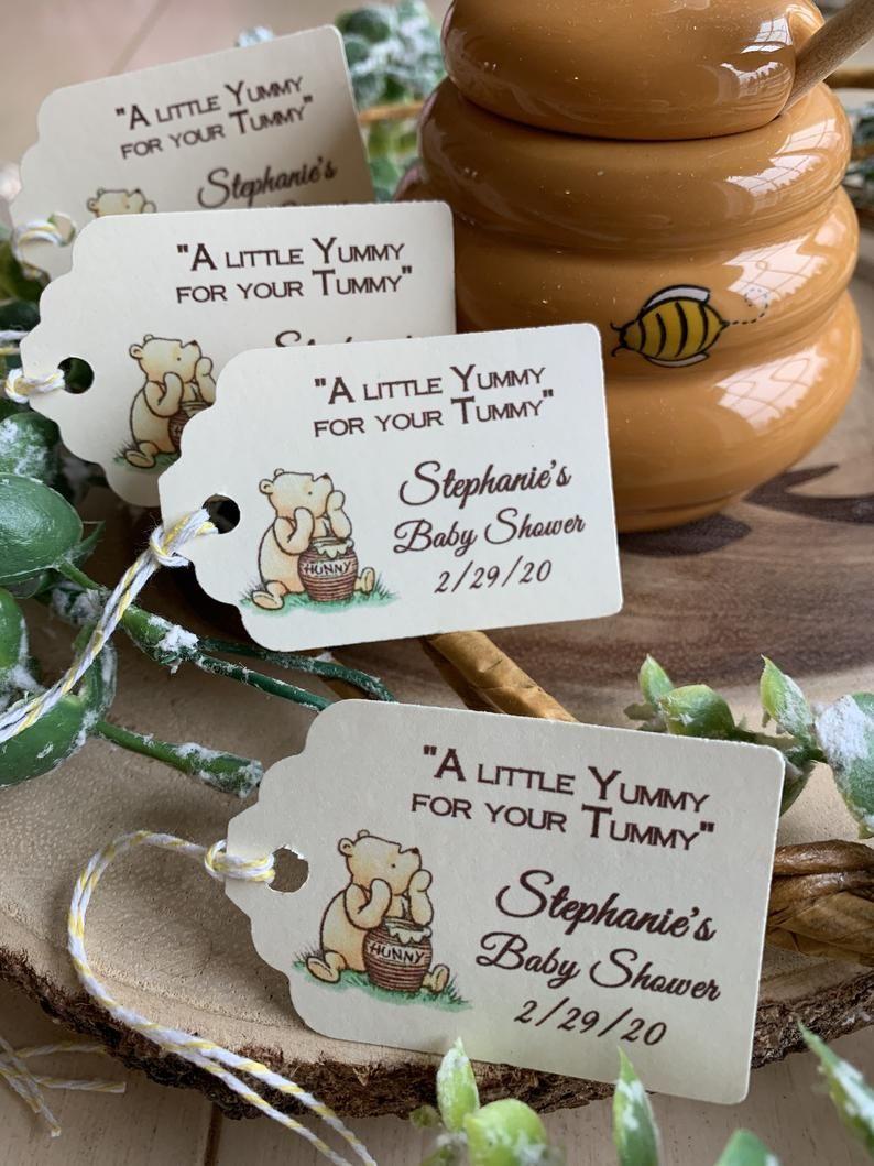 Winnie the Pooh Tag/Honey Jar Personalized Tag/Favor Tag