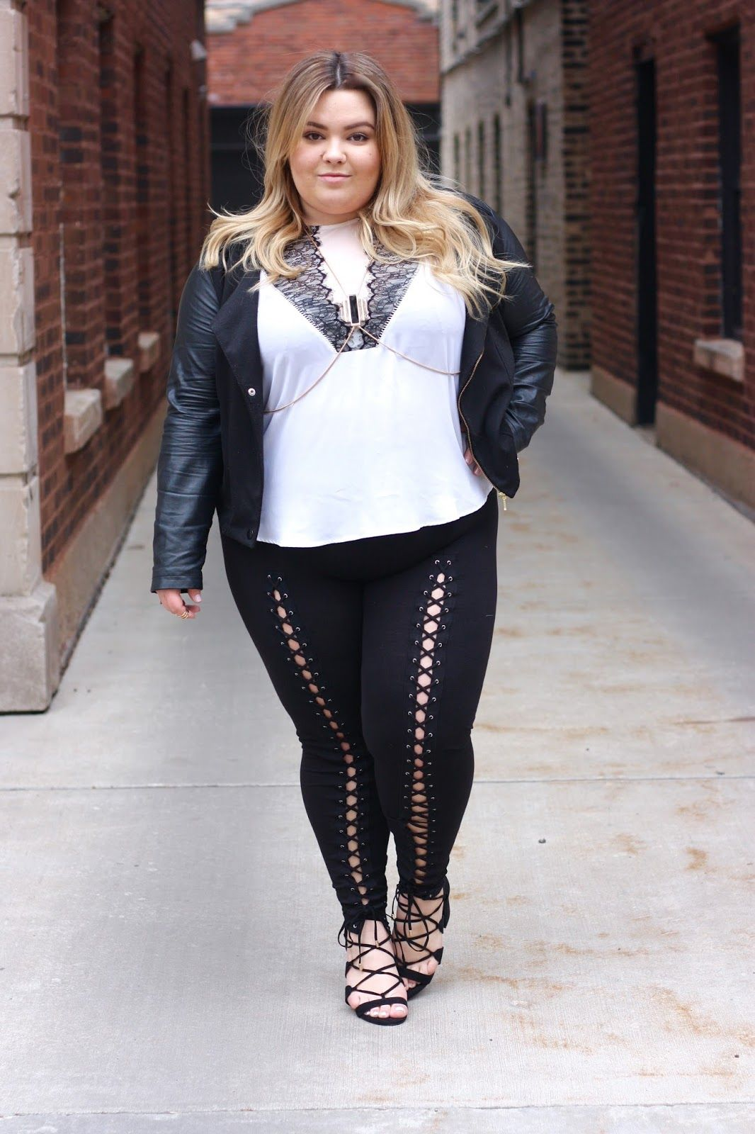 plus size lace up leggings, khloe kardashian lace up leggings ...