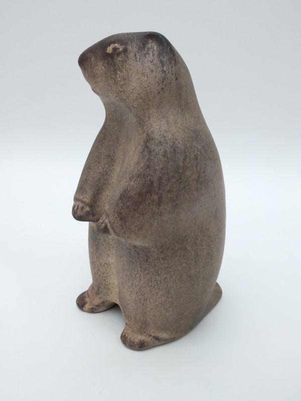 KARLSRUHER MAJOLIKA Murmeltier Tierfigur 7559 Entwurf Glatzle H 15 cm | eBay