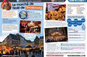 Marché de Noël/Christmas market – lesson-plan #marchédenoel