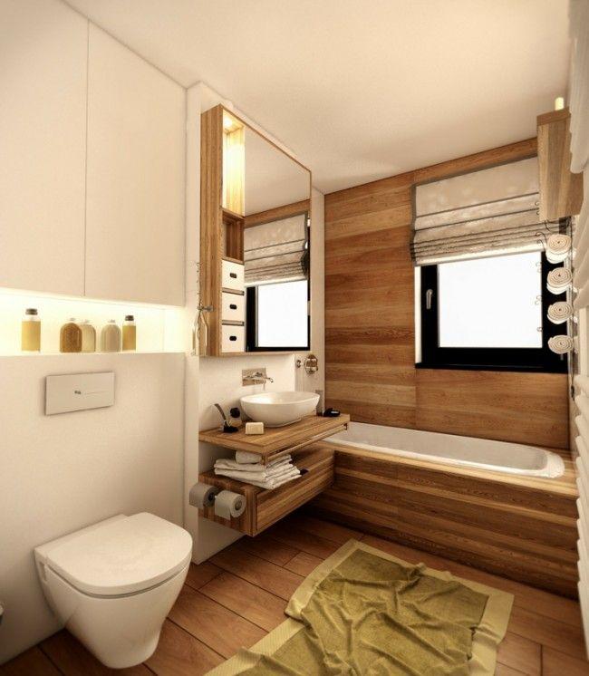 Salle de bain en bois en 30 idées inspirantes ! | Tablier de ...