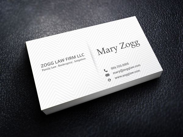 Business Cards Professional Business Card Design Lawyer