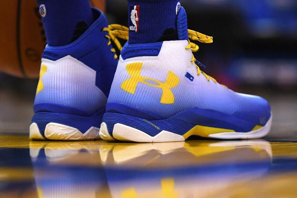 Under Armour Sales Jump 30% As Stephen Curry Shoes Prove A Slam Dunk -  Forbes 49945ffa27c4
