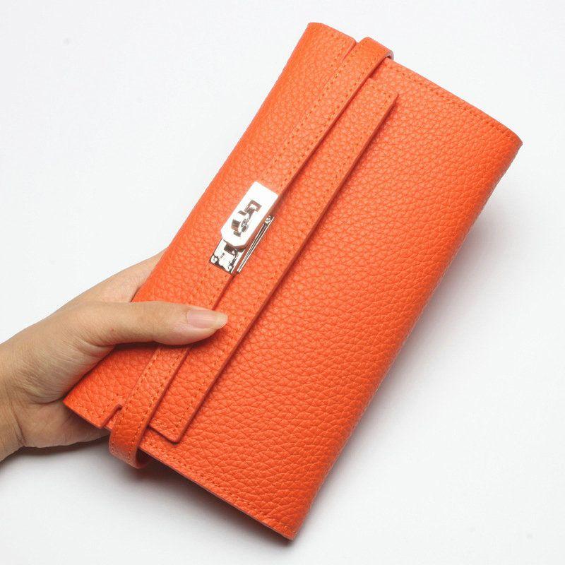 7eef36528 Carteras clásicas de marca famosas para mujeres Bolso de clutch de cuero  online barato [WL66001] - €40.34 : bzbolsos.com, comprar bolsos online