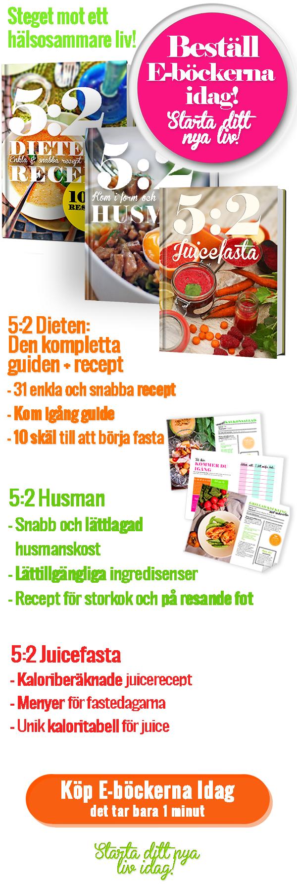 diet 5 2 metoden recept