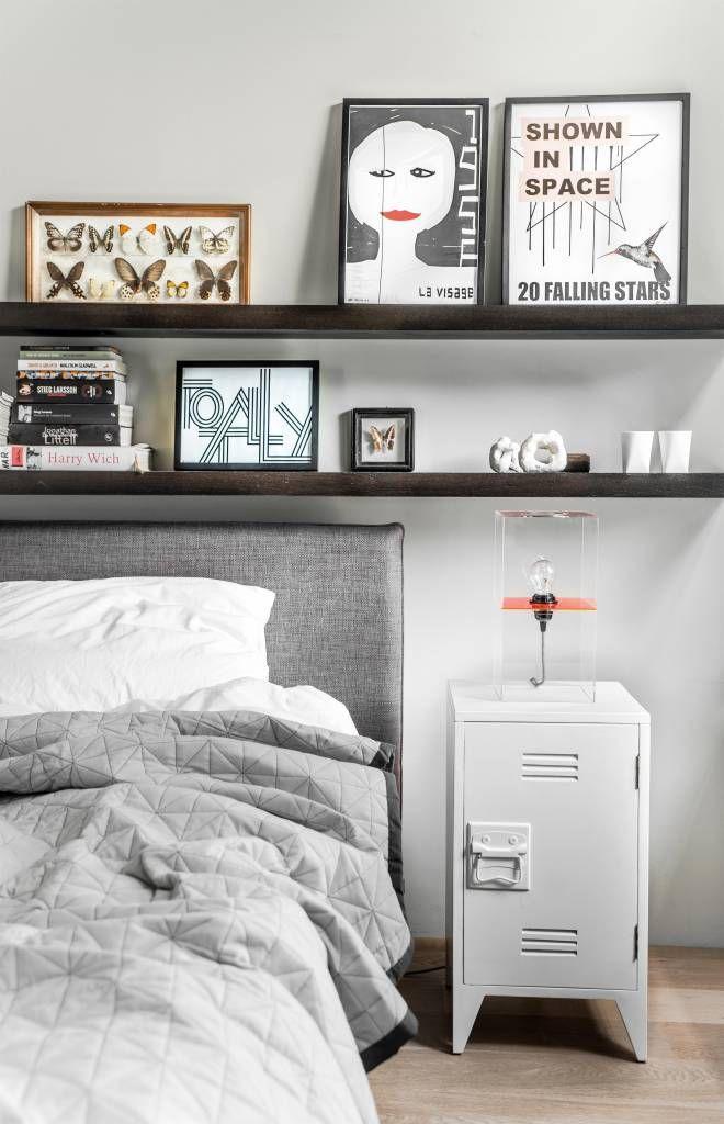 HK-living Nachtkästchen im 2er-Set aus Holz, weiß, 65x36x33cm - Schreibtisch Im Schlafzimmer