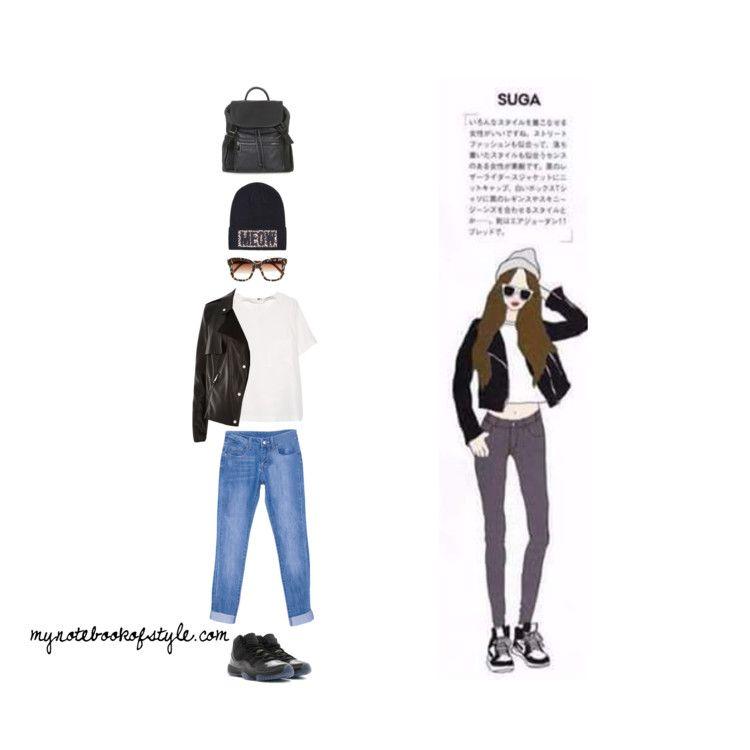 Suga ideal girl fashion