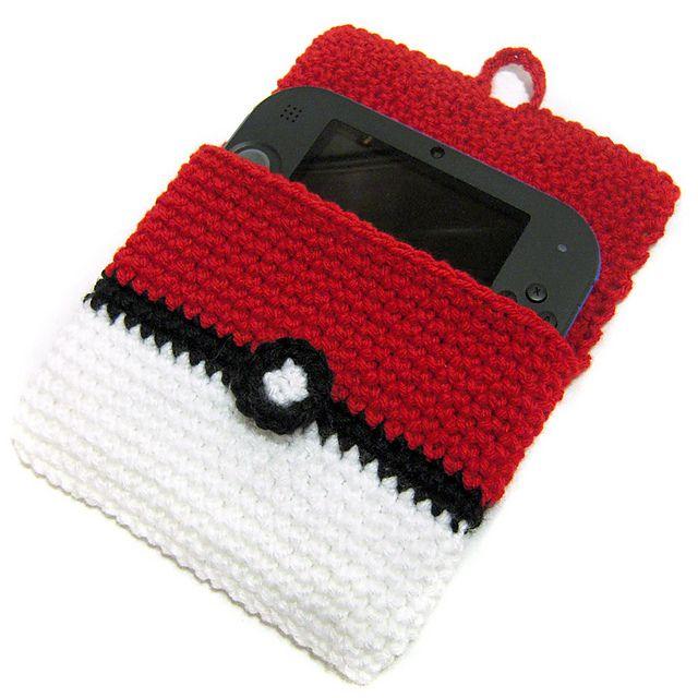 Ravelry 2ds Pokeball Cover Pattern By I Crochet Things Crochet