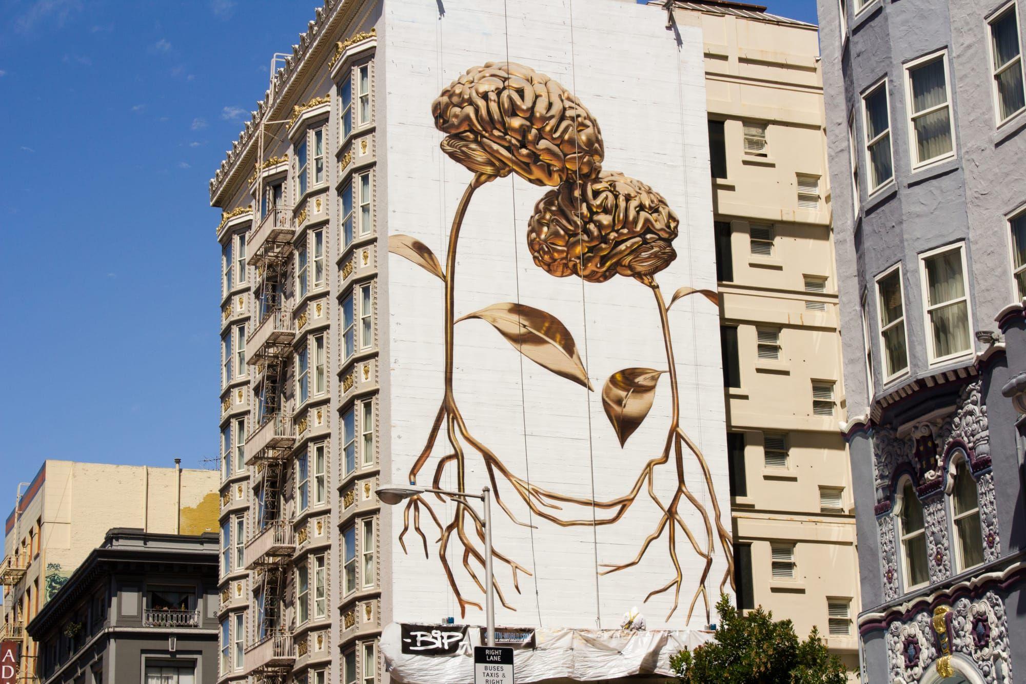 Figurine By Bip At The Alise San Francisco A Staypineapple Hotel San Francisco Graffiti Images Graffiti Street Art