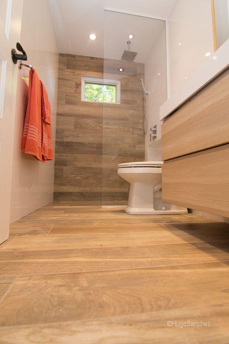 Porcelaine imitation de bois salle de bain love for Salle de bain 94 jeu