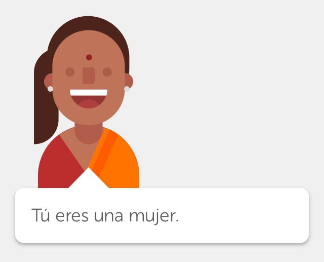 How to say i am a woman in spanish