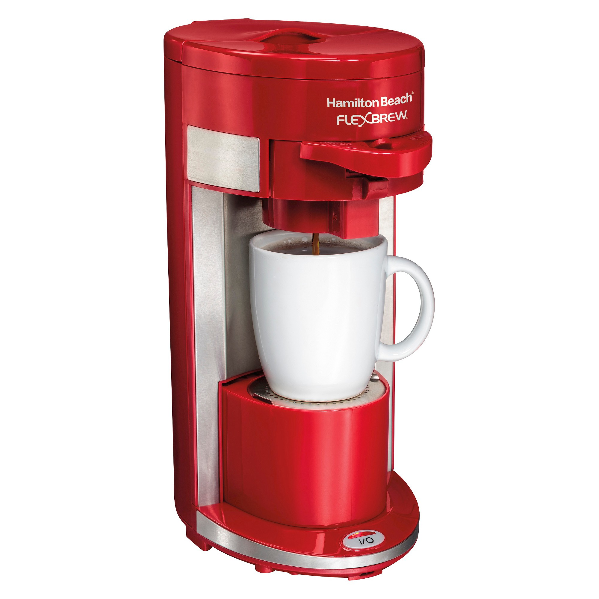 Hamilton Beach Flexbrew Single Serve Coffee Maker Red49962 Red