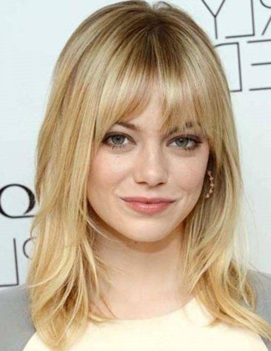 Popular Medium Length Haircuts With Bangs And Layers Hair World