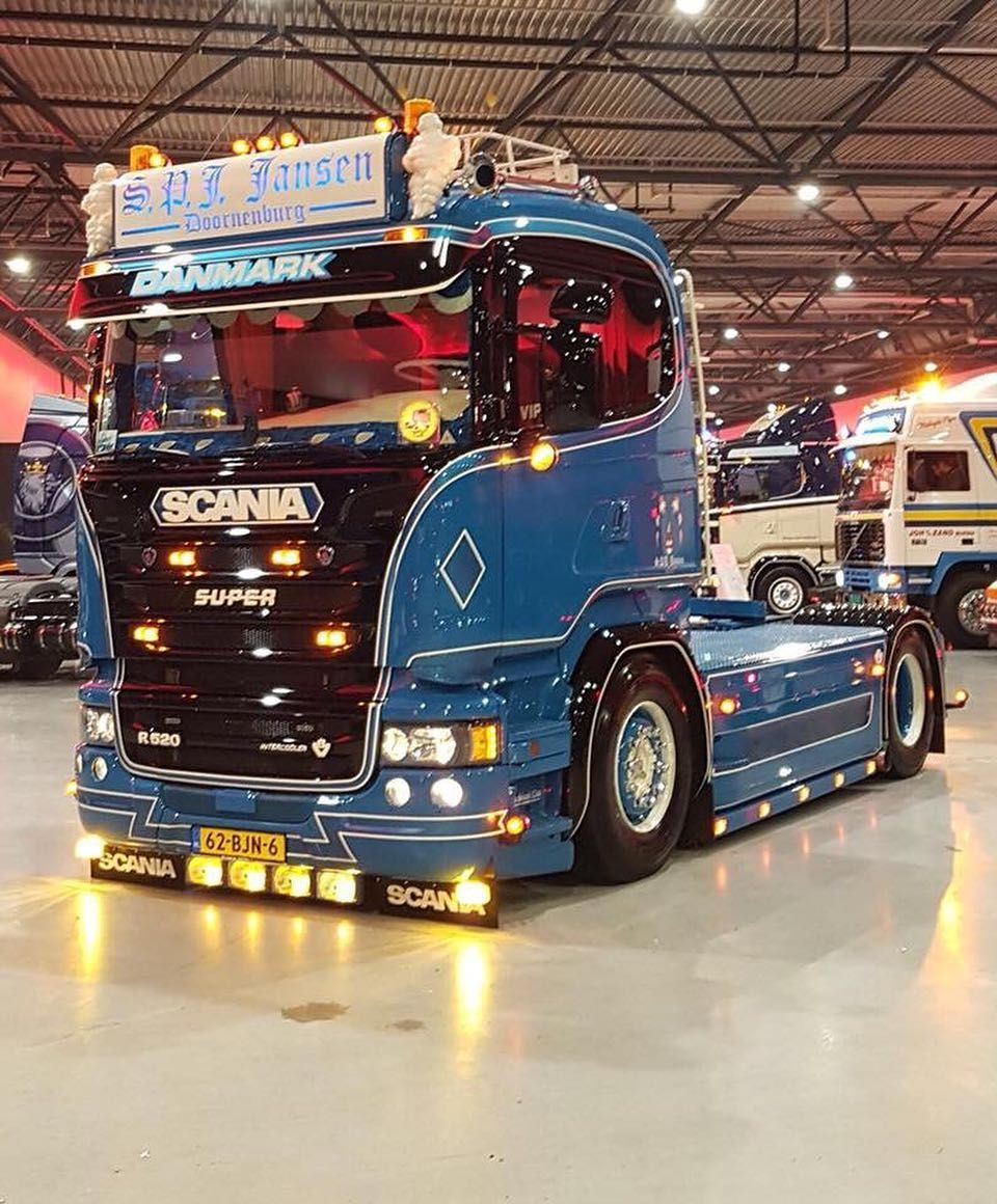 Daf Scania Pin By Gerardo Cortés On Trailers Pinterest Trucks Customised