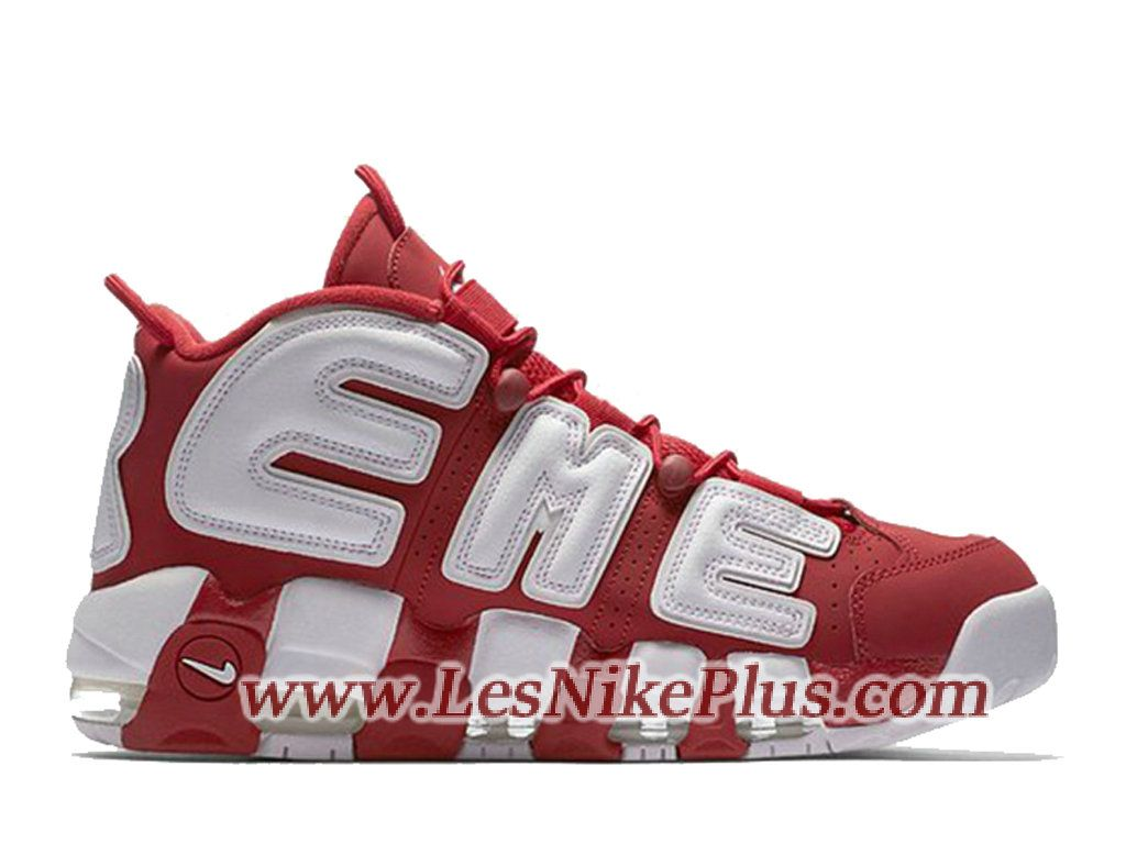 brand new 7253a 17c15 Sneaker Supreme x Nike Air More Uptempo Chaussures Nike 2018 ...