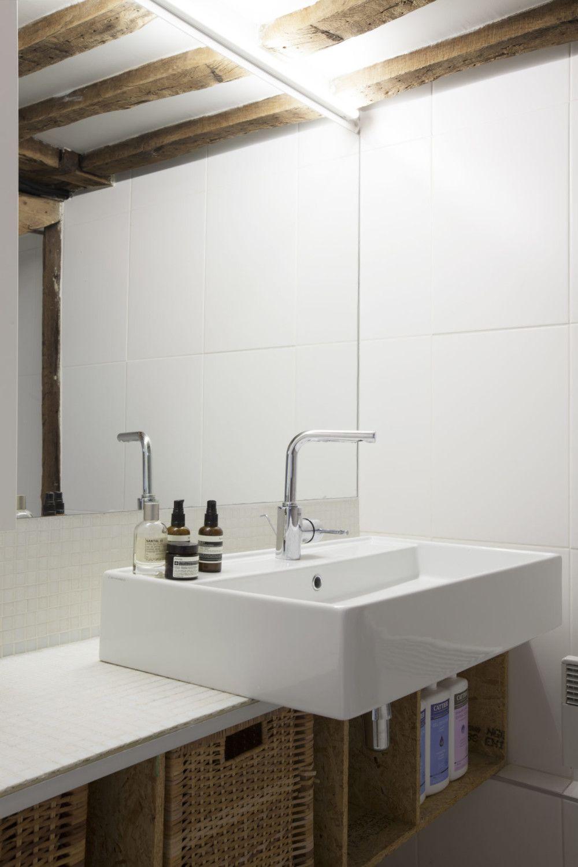 De l\'ancien au moderne… | essential | Salle de bain, Hauteur ...