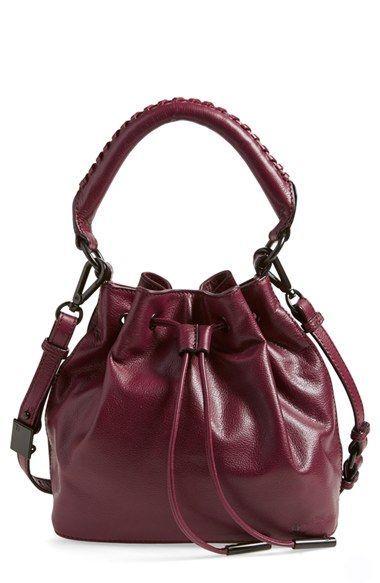 This Bag In Cognac Elliott Lucca Gigi Bon Leather Drawstring Available At Nordstrom