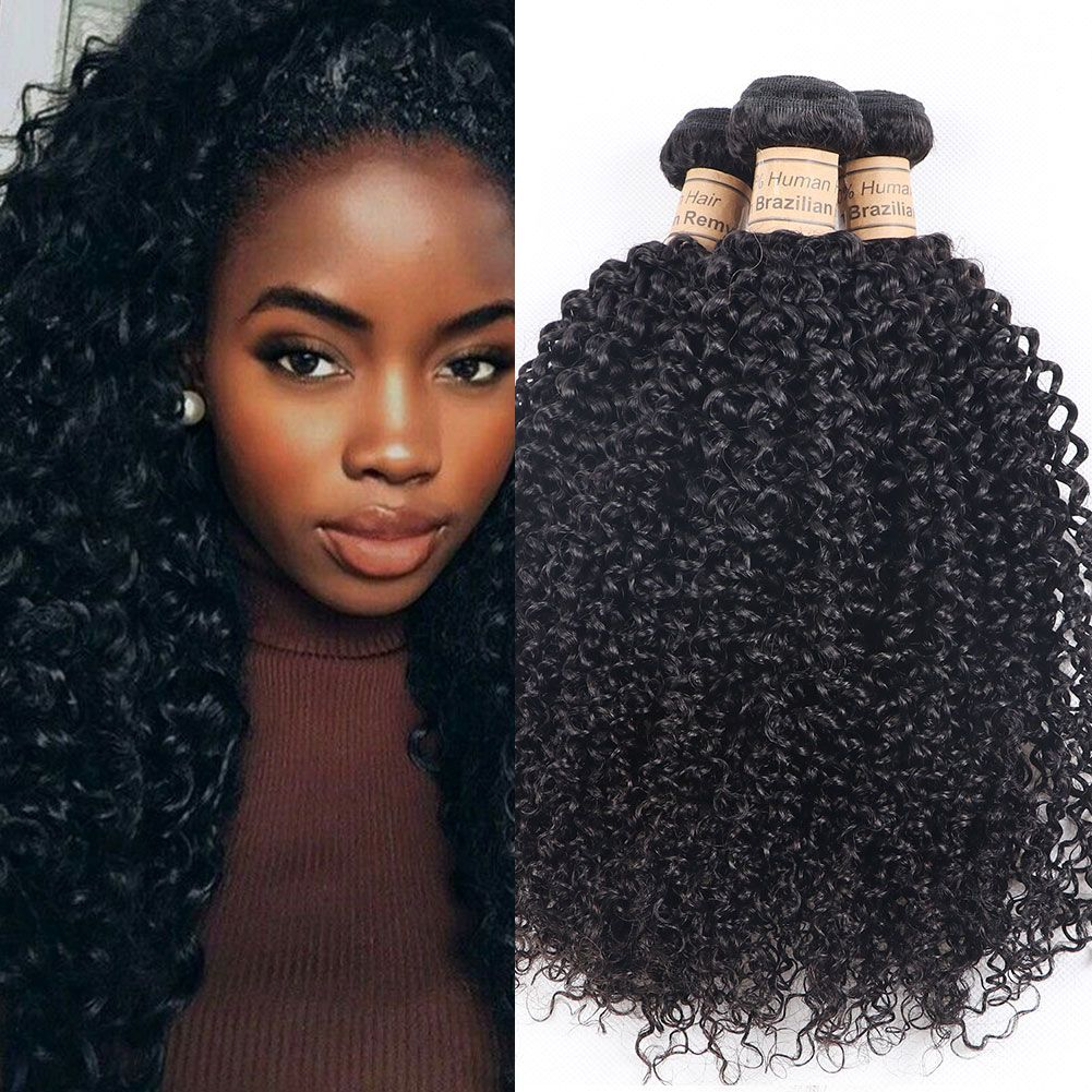 Riverwood Hari Brazilian Jerry Curl Human Hair Extensions With