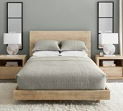 Cayman Platform Bed & Headboard LILLYS BEDROOM