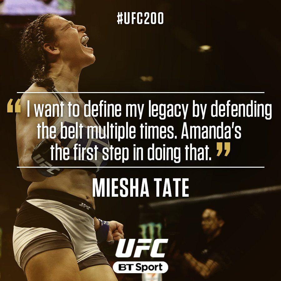UFC on BT Sport on Twitter Bt sport, Ufc, Miesha tate ufc
