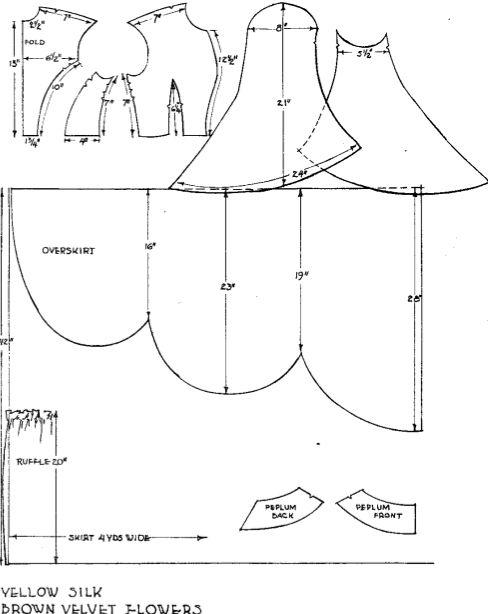 Moldes de vestidos de princesas Disney - Imagui | chicos ...