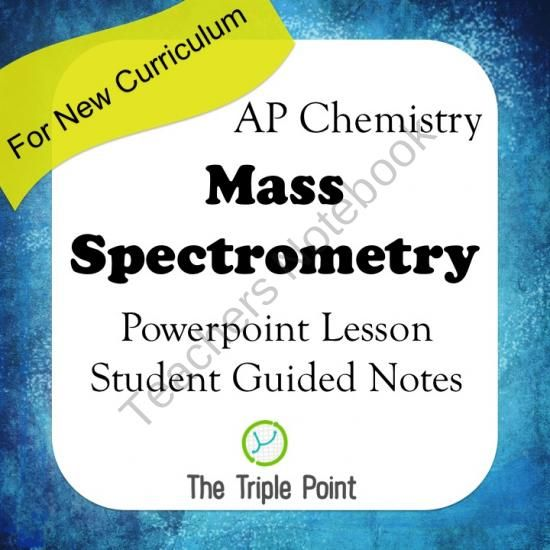 AP Chemistry Big Idea 1 Mass Spectrometry- Powerpoint Lesson + - new periodic table lesson ppt