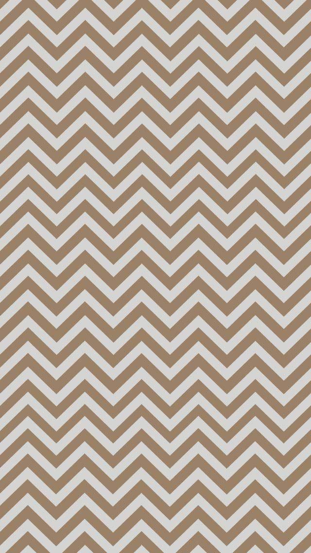 Taupe Brown Chevron Iphone Wallpaper Chevron Wallpaper