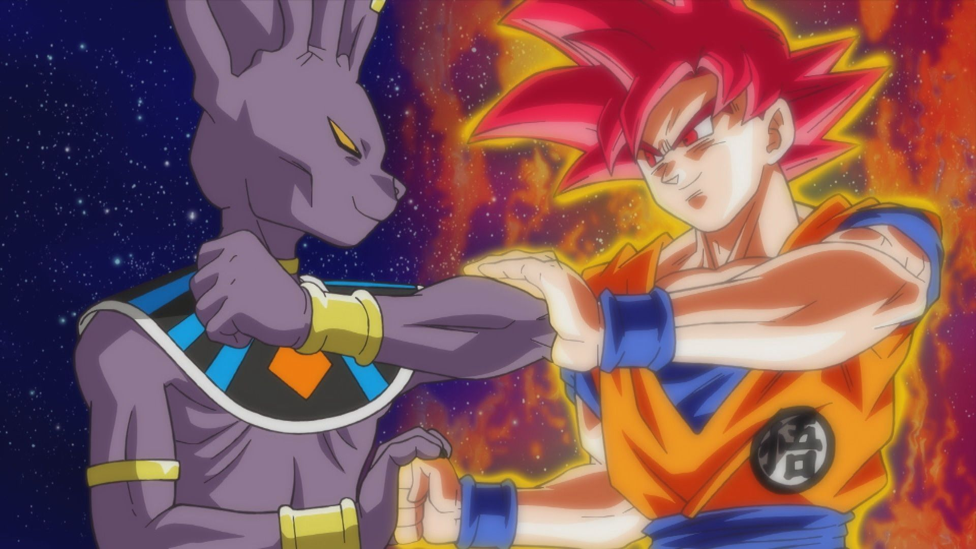 Dragon Ball Z Battle Of Gods Bills Vs Goku Super Saiyan