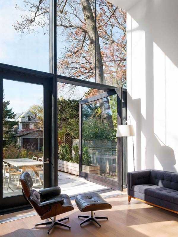 Three-story contemporary renovation in Toronto: 142 Kenilworth by Johnson Chou