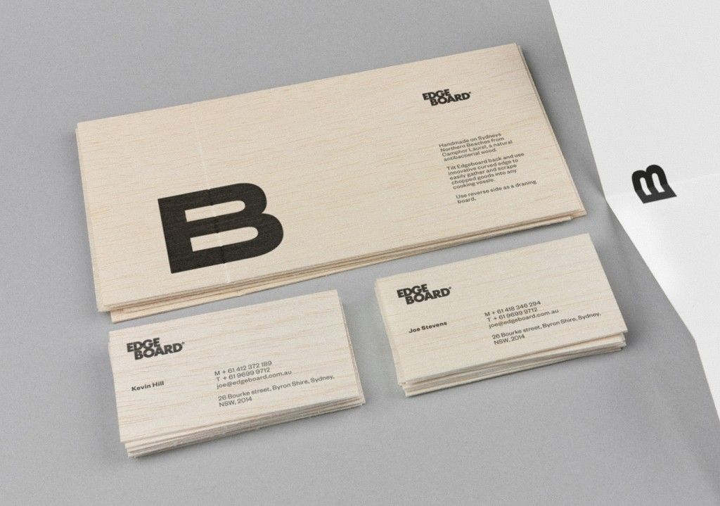 Edgeboard - Business Card Design Inspiration | Card Nerd | >> DESIGN ...