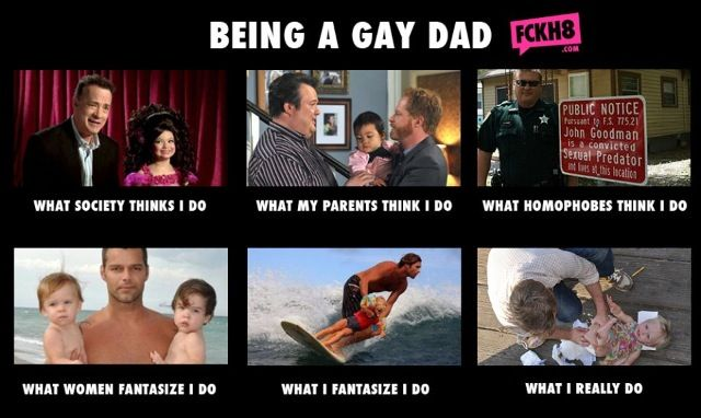 Find gay dad