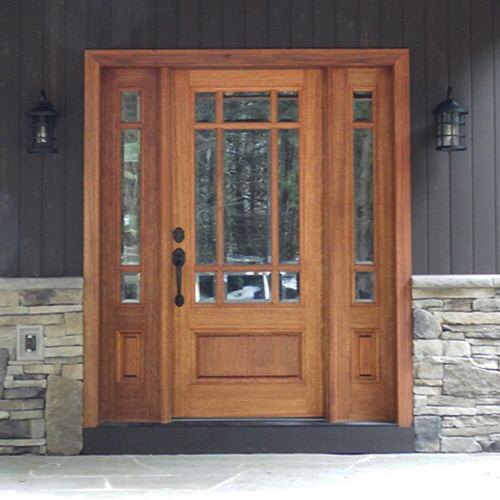 Htc700 1 2 Rustic Front Door Craftsman Style Front Doors Garage Door Design