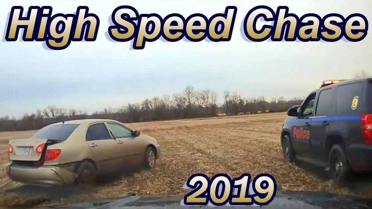 Dash Cam High Speed Chase of Stolen Car Miami , Oklahoma