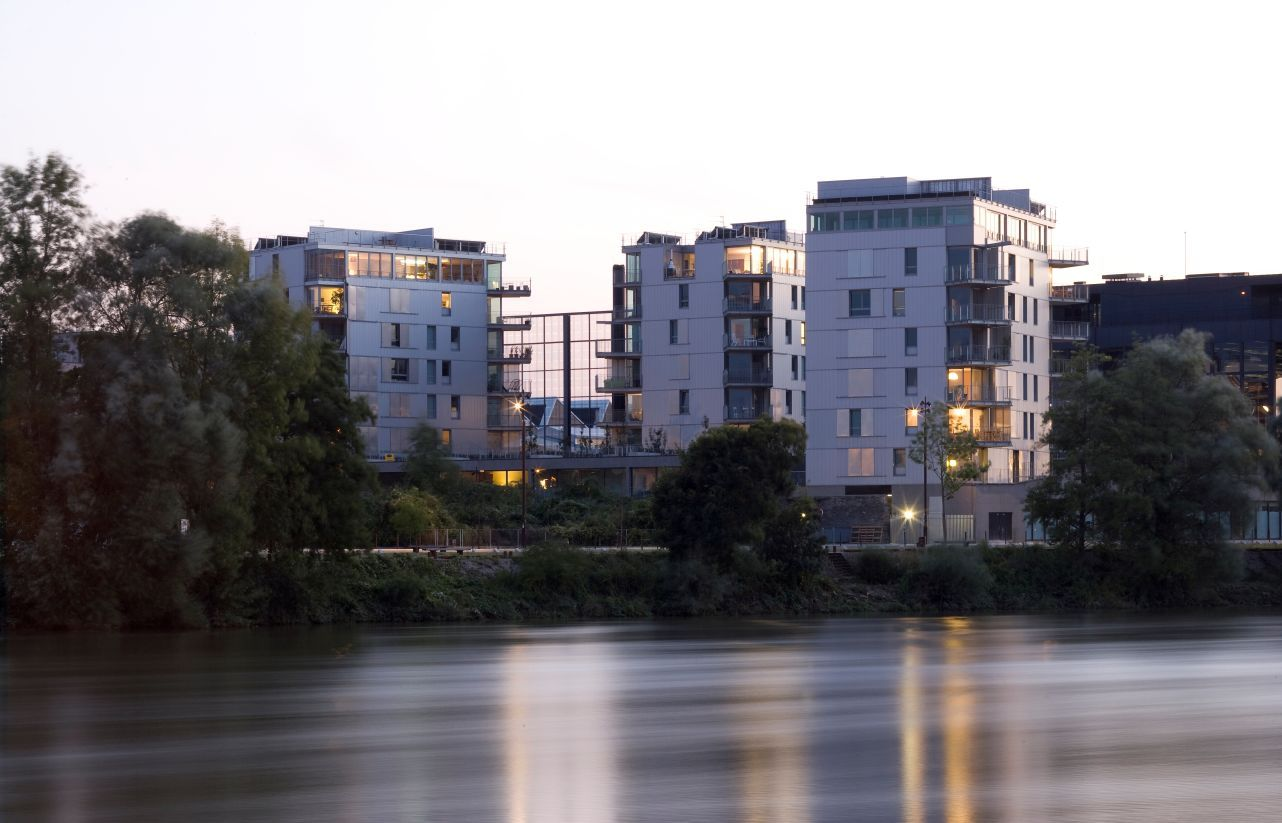 Habiter les quais \u2014 ANMA en 2020   Quai de loire, Logement social, Maison de ville